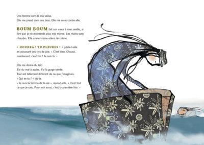 À petits pas – Création artistique et théâtrale de l'adaptation du livre «Le grand saut»